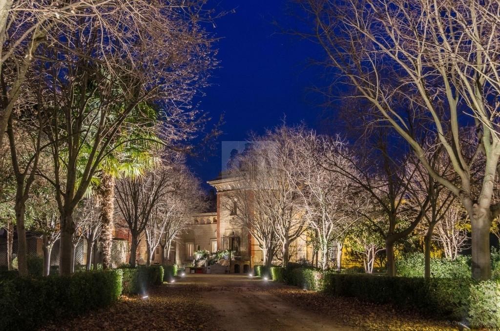 Vista del Jardin Iuminado