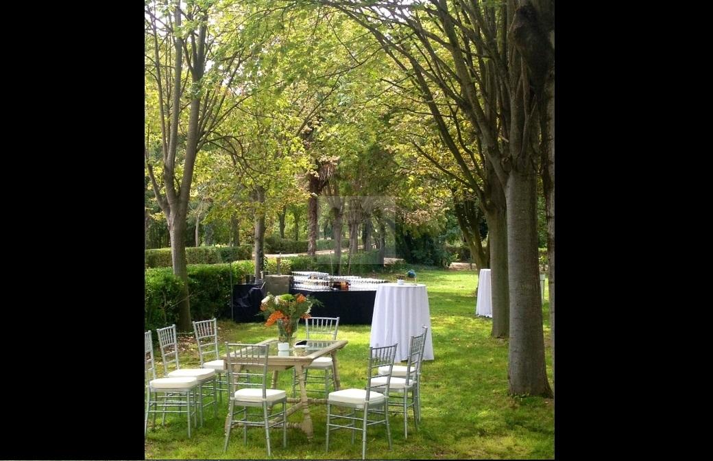 Paseo de Tilos decorado para boda