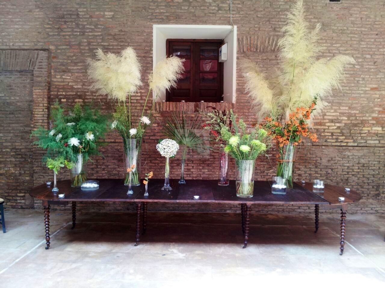 Decoración floral para boda y evento
